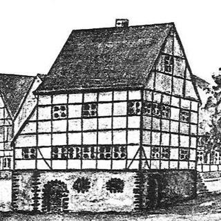 Das erste Rathaus um 1805