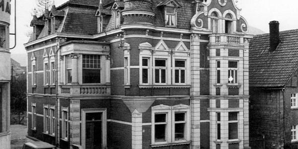 Villa Maas Lange Straße um 1955