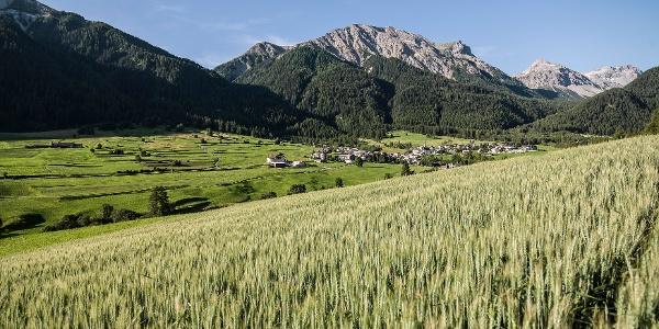 Blick ins Val Müstair