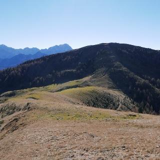Der Monte Cocco vom Aufstieg zum Schönwipfel