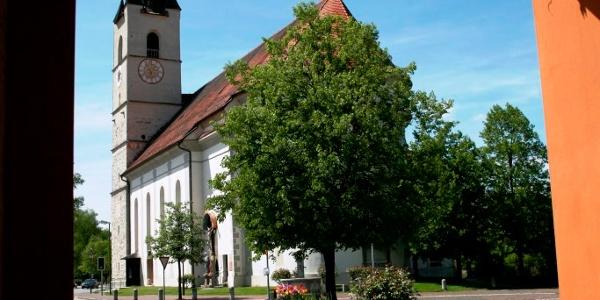 Pfarr- und Wallfahrtskirche Mariä Himmelfahrt in Halfing
