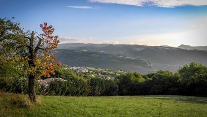 Herbstliche Aussichten über die Lessinischen Alpen