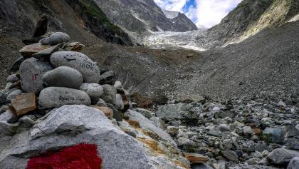 In weniger als 2 Stunden erreicht man den Chalati Gletscher vom Grenzposten aus