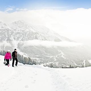 Winterwandern auf dem Heidi & Gigi Weg