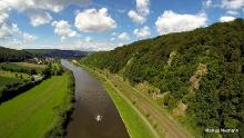 Weserhöhen - Tourenvorschlag 3: Zwischen Weser-Skywalk und Weltkulturerbe Corvey