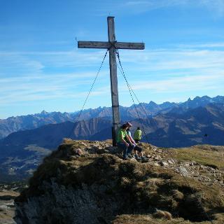 Gipfel des Ifen 2229 Hm