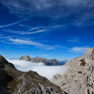 Sulla sinistra la cima del Monte Tul