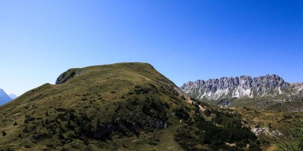 La dorsale est del monte della Piana