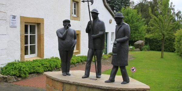 Am Kultur- und Heimathaus Borgholzhausen