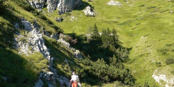 Salendo al monte Chiadin