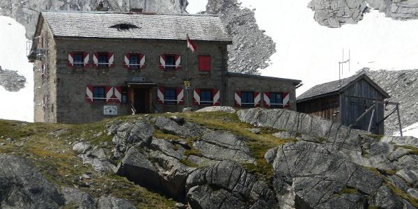 Schutzhütte im Salzburger Teil der Zillertaler Alpen.