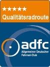 ADFC-Qualitätsradroute mit 5 Sternen - @ Autor: Allgemeiner Deutscher Fahrrad-Club (ADFC) - © Quelle: Tourismusverband Ostallgäu e.V.