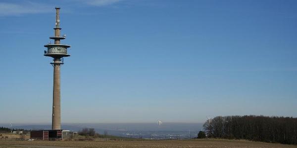 Blick auf Telekom Turm