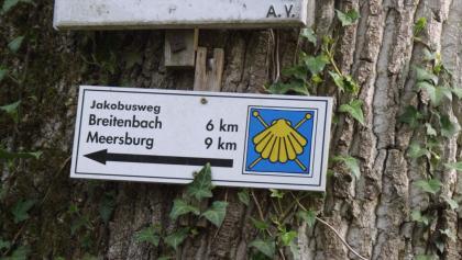 Jakobusweg Kennzeichnung