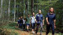 Nordic Walking Landstuhl-Kindsbach - Mittelschwierige Tour (rot)