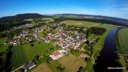 Weserhöhen Wehrden wandern wo es Spass macht