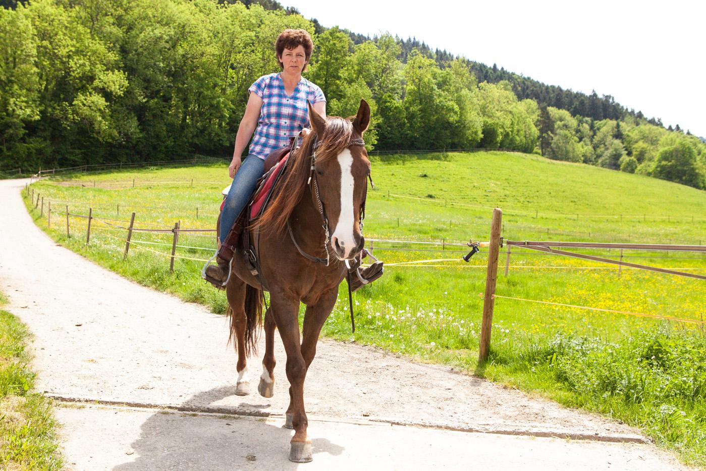 Reiten beim Erlenhof in Buchenbach