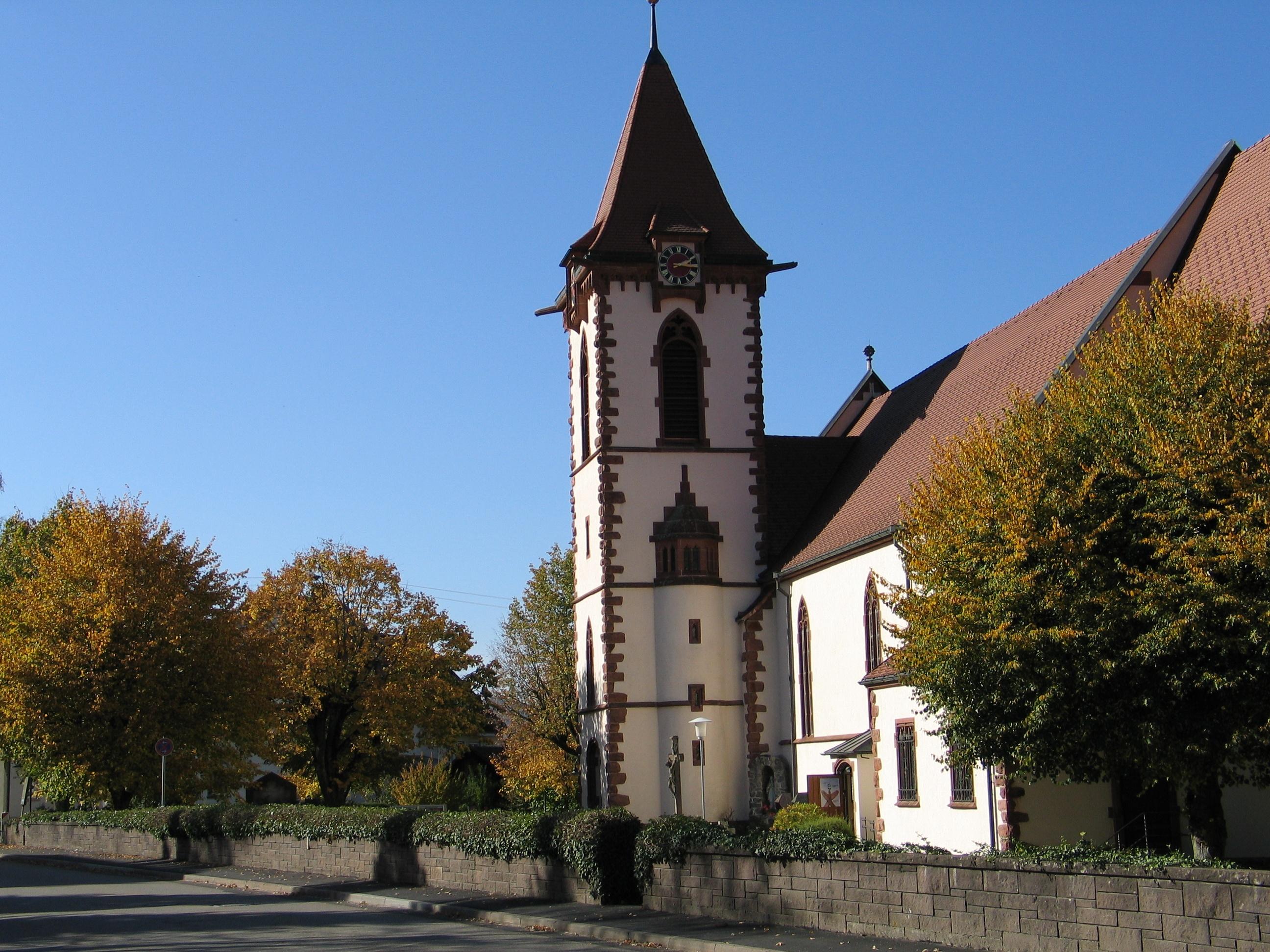 Kirche in Buchenbach