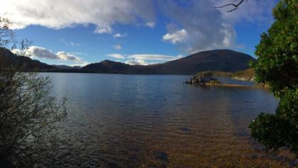 Blick von Norden auf den Muckross Lake