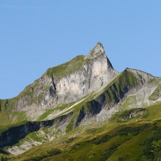 Blick auf das Himmeleck (links) und den Schneck