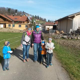 Am Ortsausgang in Gunzesried.