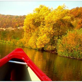 Herbst über dem Unstruttal