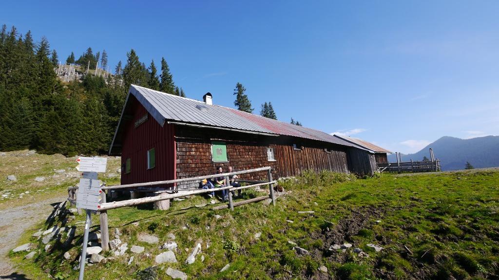 Die Obere Alpe Reuterwanne  - @ Autor: Hartmut Wimmer  - © Quelle: Outdooractive Redaktion