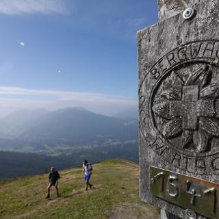 Auf dem Gipfel der Reuterwanne