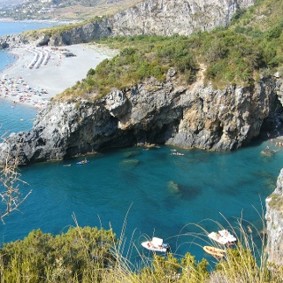 Die Küste Kalabriens