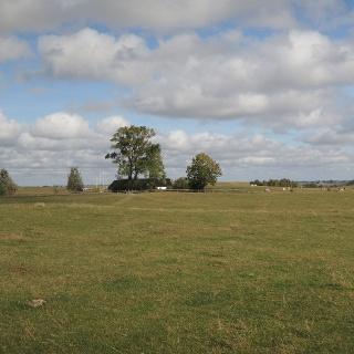 Wilde Landschaft auf Backåkra