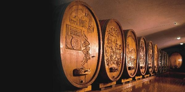 Einiges über den Weinbau erfahren kann man im Badischen Winzerkeller in Breisach - einem der größten Kellereien Europas