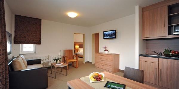 Quality Hotel Bielefeld: Appartement