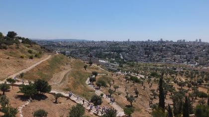 מבט על ירושלים מהר הצופים