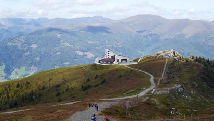 Kaiserburg Gipfel mit dem Bergrestaurant
