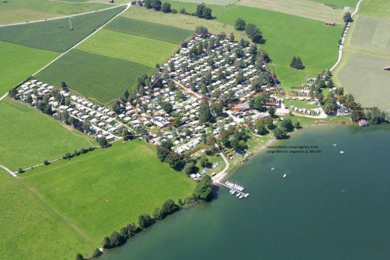 Wanderung - Riegsee-Rundweg - Campingplatz Brugger