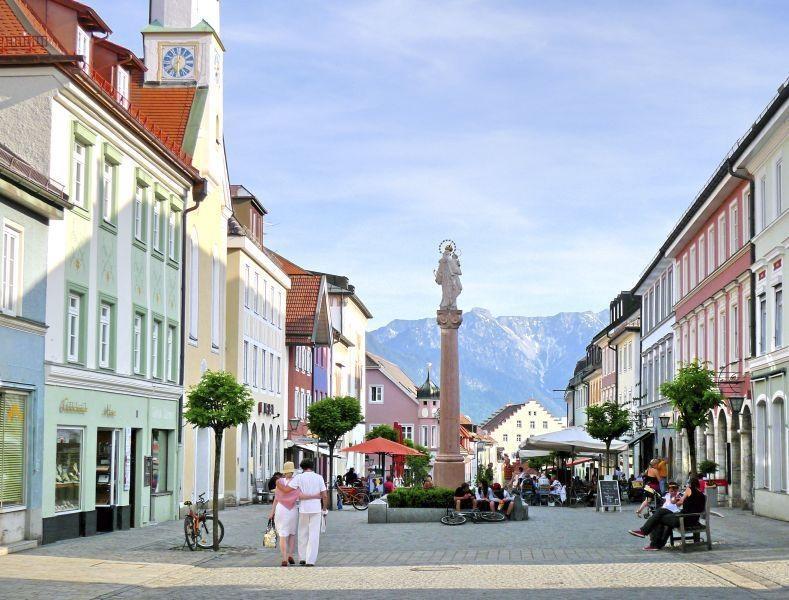 Wanderung - Staffelsee-Rundweg - Fußgängerzone Murnau