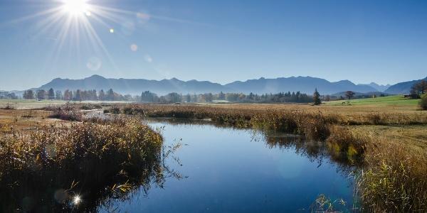 Wanderung Kleine Staffelsee-Schleife - Die Uffinger Ache