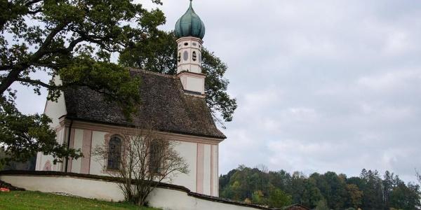 Fernwanderweg - Meditationsweg, erste Etappe - Das Ramsachkircherl
