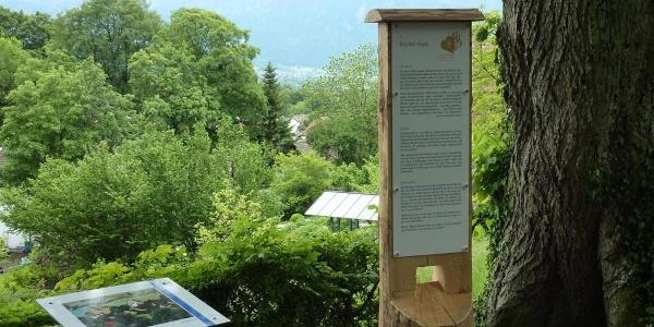 Fernwanderweg - Meditationsweg, 2. Etappe - Stele am Münterhaus