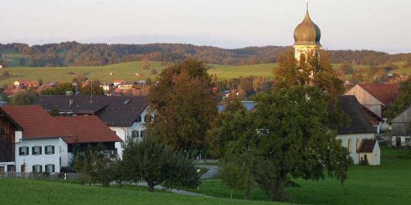Fernwanderweg - Meditationsweg, 3. Etappe - Froschhausen in der Abendsonne