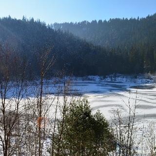 Sankenbachsee im Winter