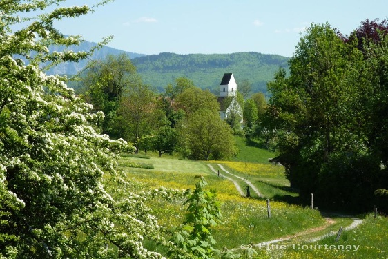 Fernwanderweg - Meditationsweg, 4. Etappe (Aidling - Ohlstadt)
