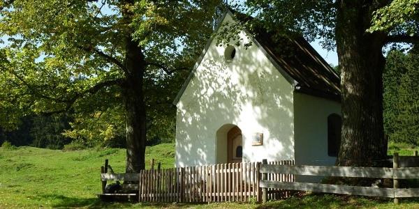 Fernwanderweg - Meditationsweg, 5. Etappe - Boschetkapelle bei Ohlstadt