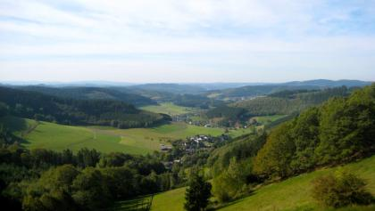 Blick ins obere Ferndorftal