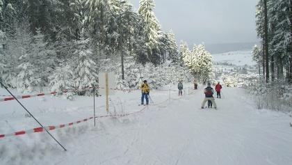 Oberer Teil des Skiliftes am Seimberg