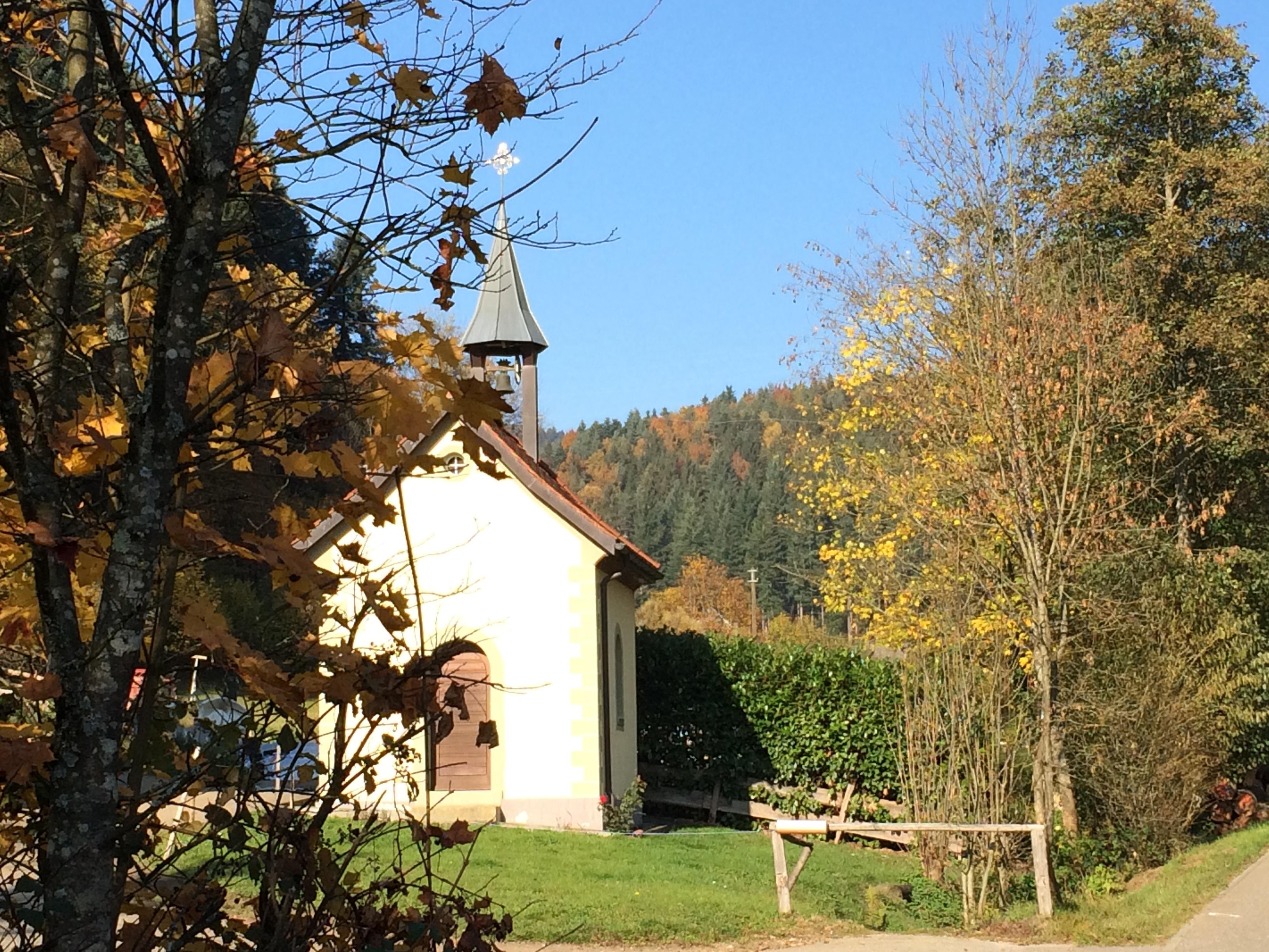 Die Rauferhofkapelle im Attental