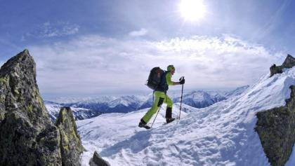 Kröndlhorn, die letzten Meter vor dem Gipfel