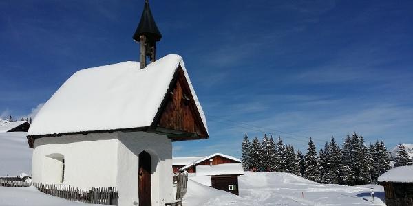 Kapelle Matschwitz im Winter