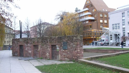 Waisenhaus Pforzheim Mauerreste