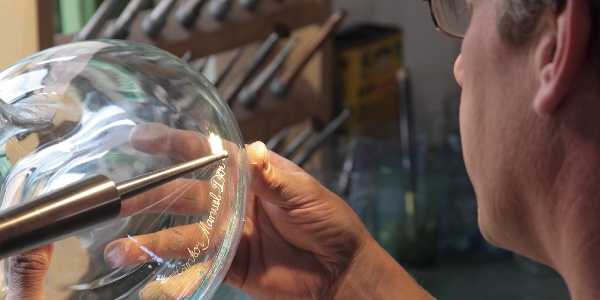 Glashütte Gernheim: Glasbe- und Verarbeitung